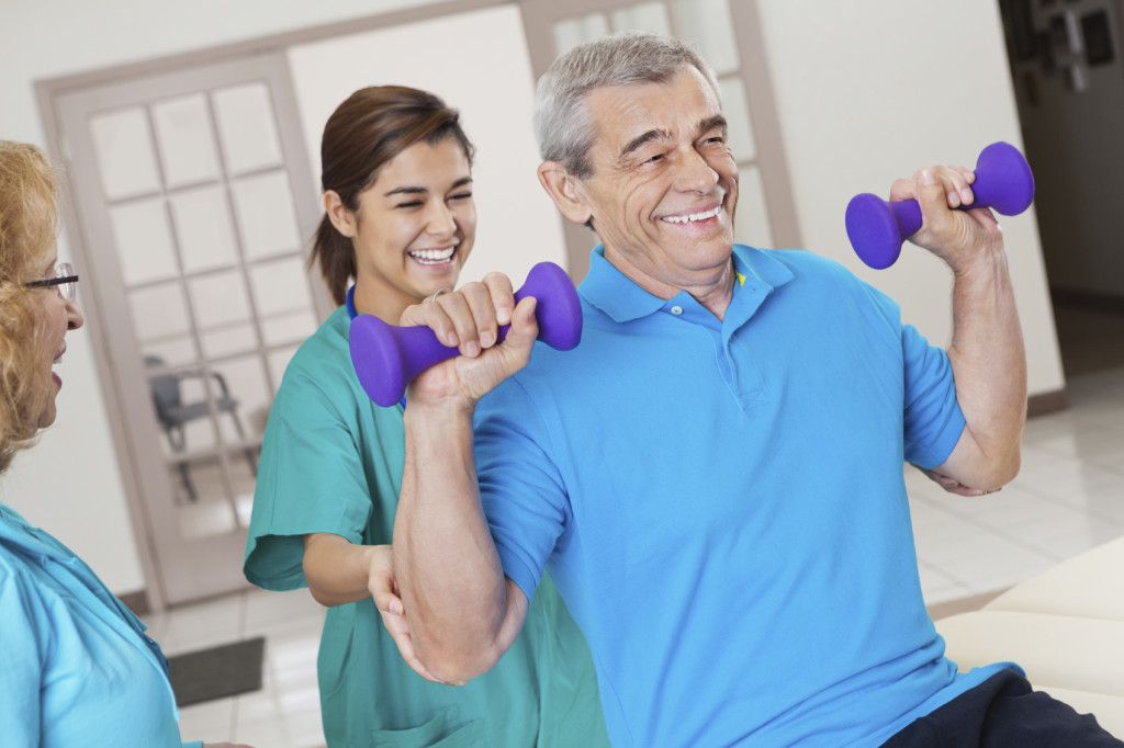 Rehabilitation & Therapy at Park Manor of Southbelt nursing home in south Houston, TX.